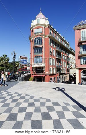Architecture Of Massena Square, Nice