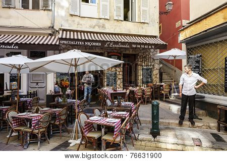 L'escalinada Restaurant In Nice, France
