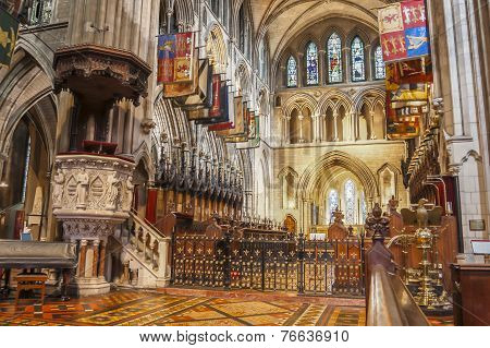 Interior Of Saint Patrick Cathedral