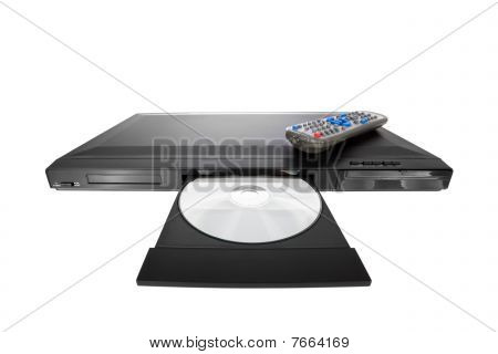 DVD player ejecting disc with remote control