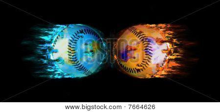 Baseball Kiss