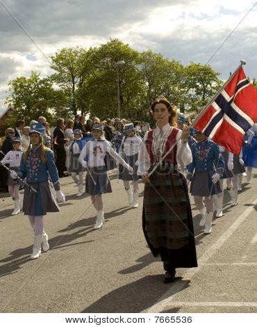 Norwegian national day parade