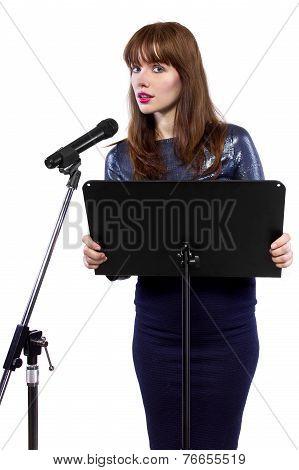 Nervous Speaker