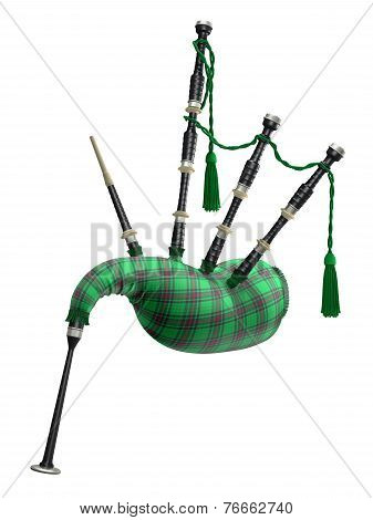 Green bagpipe
