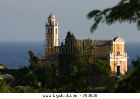 Portofino's church