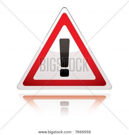 Warning Sign Icon Uk Exclamation