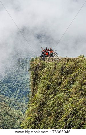 Road Of Death Bolivia Viewpoint