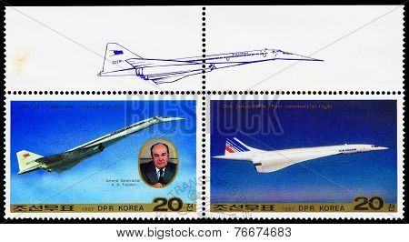 Post Stamps From North Korea
