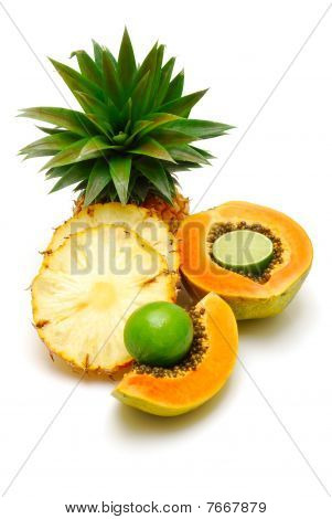 Tropical Fruit Isolated