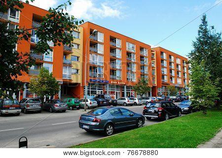 Fabijoniskes New Residential Quartier With New Houses