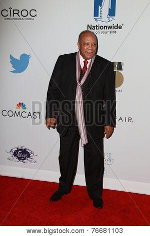 LOS ANGELES - NOV 19:  Quincy Jones at the Ebony Power 100 Gala at the Avalon on November 19, 2014 in Los Angeles, CA