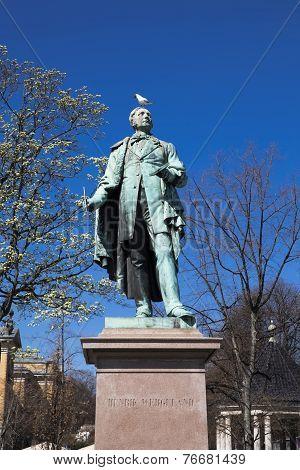 Monument To Henrik Wergeland