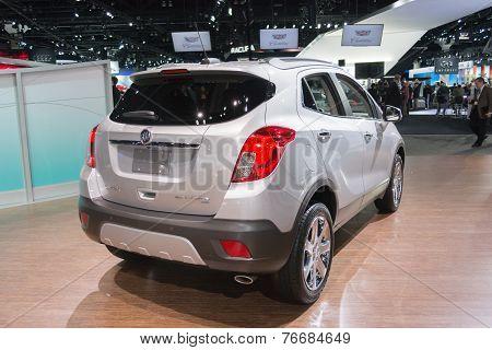 Buick Encore Awd Car On Display