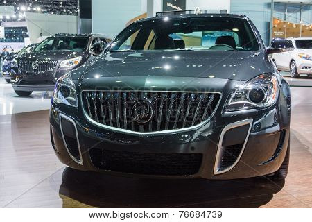Buick Regal Gs Awd 2015 On Display