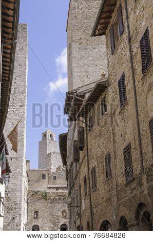 Inside San Gimignano