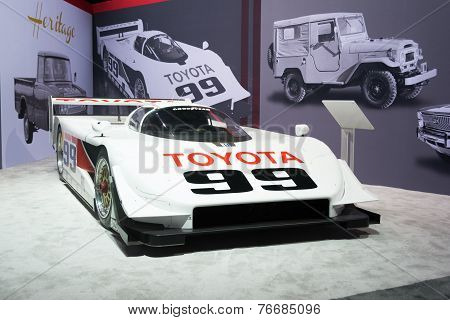 Toyota Imsa Gtp Eagle Mkiii  Sports Prototype On Display