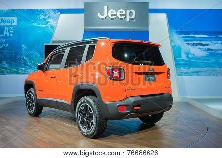 Jeep Renegade Trailhawk 2015 On Display