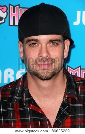 LOS ANGELES - MAR 26:  Mark Salling at the Just Jared's Throwback Thursday Party at the Moonlight Rollerway on March 26, 2015 in Glendale, CA