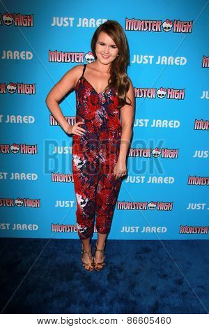LOS ANGELES - MAR 26:  Ashlee Keating at the Just Jared's Throwback Thursday Party at the Moonlight Rollerway on March 26, 2015 in Glendale, CA