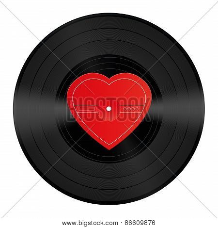 Lp Record Vinyl Heart Love Song