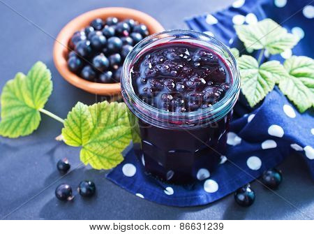 Jam From Black Currant