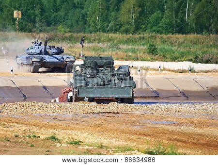 Tanks Passing impediments