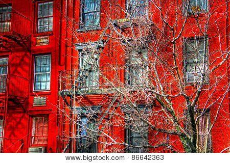 New York facade 150