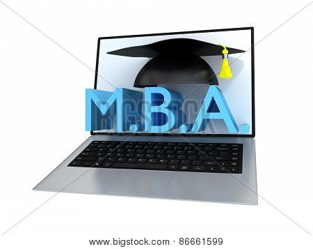 Business Master Degree Concept