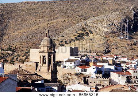 White town, Loja.