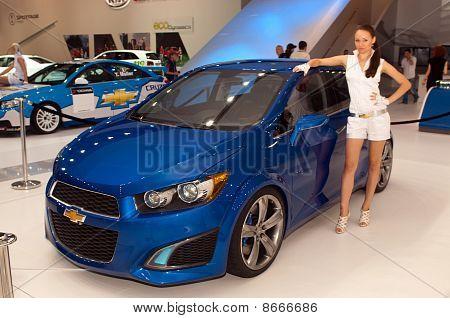 Chevrolet Aveo RS Concept car