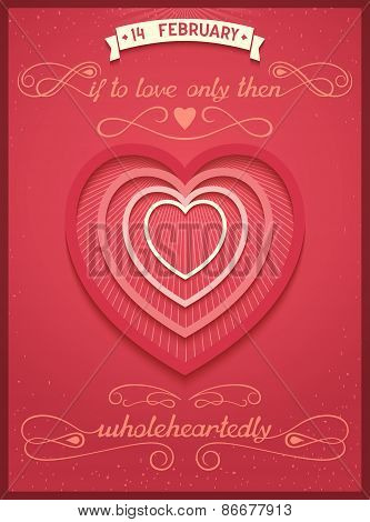 If to love only than wholeheartedly
