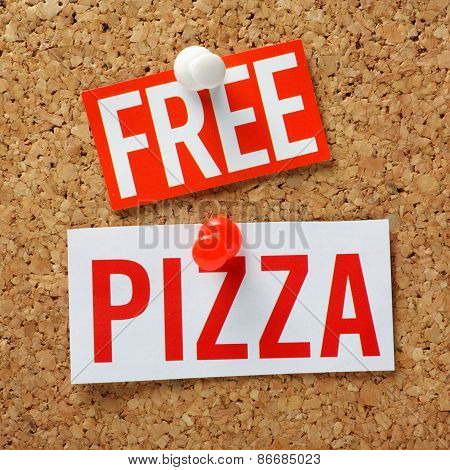 Free Pizza!