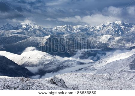 Mountain Snow Landscape View