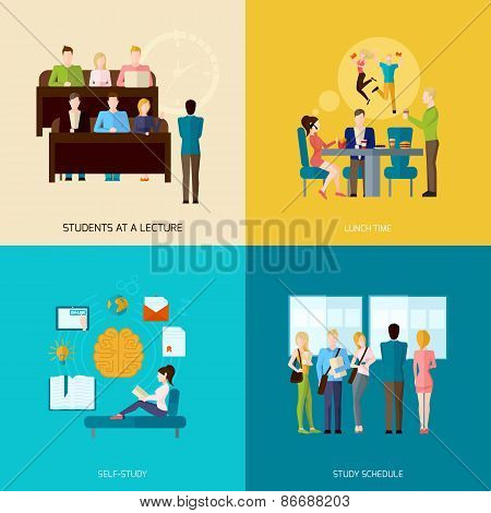 Students Concept Set