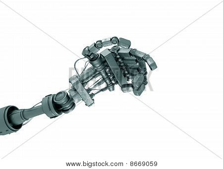 Hand des Roboters