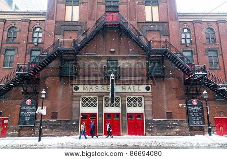 Massey Hall In The Winter