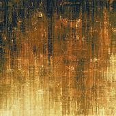 Abstract old background or faded grunge texture. With different color patterns: yellow (beige); brown; black poster