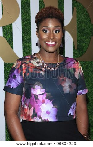 LOS ANGELES - JUN 24:  Issa Rae at the 2015 BET Awards Pre-Dinner at the Sunset Tower Hotel on June 24, 2015 in Los Angeles, CA