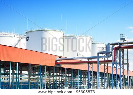 Oil storage industrial park