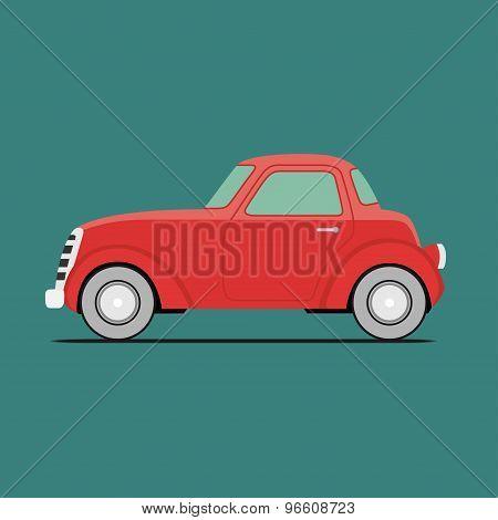 Red Sport Car