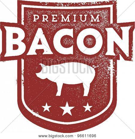 Premium Pork Bacon Crest