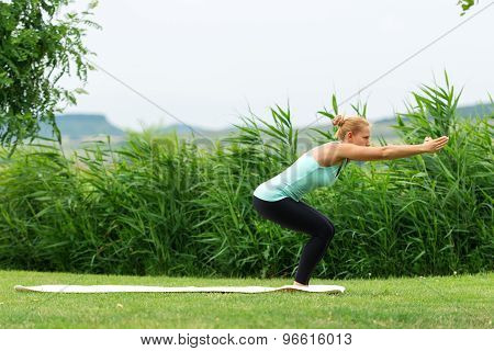 Awkward Yoga Pose