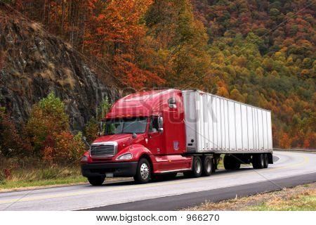 Trucking In Autumn