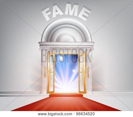 Fame Red Carpet Door