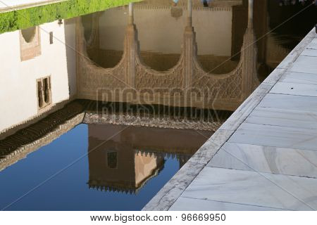 From A Pool In Alhambra