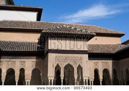Lion Courtyard Arches