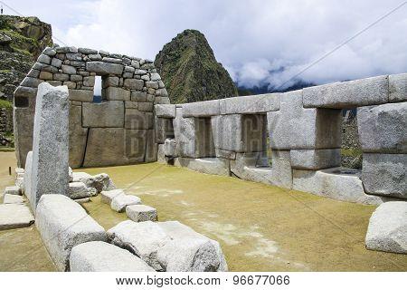 Beautiful Hidden City Machu Picchu In Peru