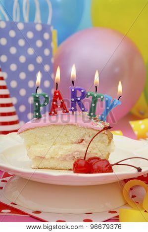 Happy Birthday Party Table