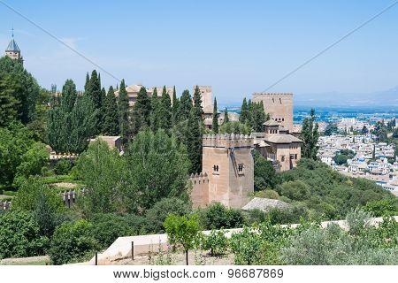 Alhambra Between Trees