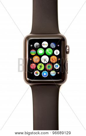 Apple Watch App Launcher And Icons